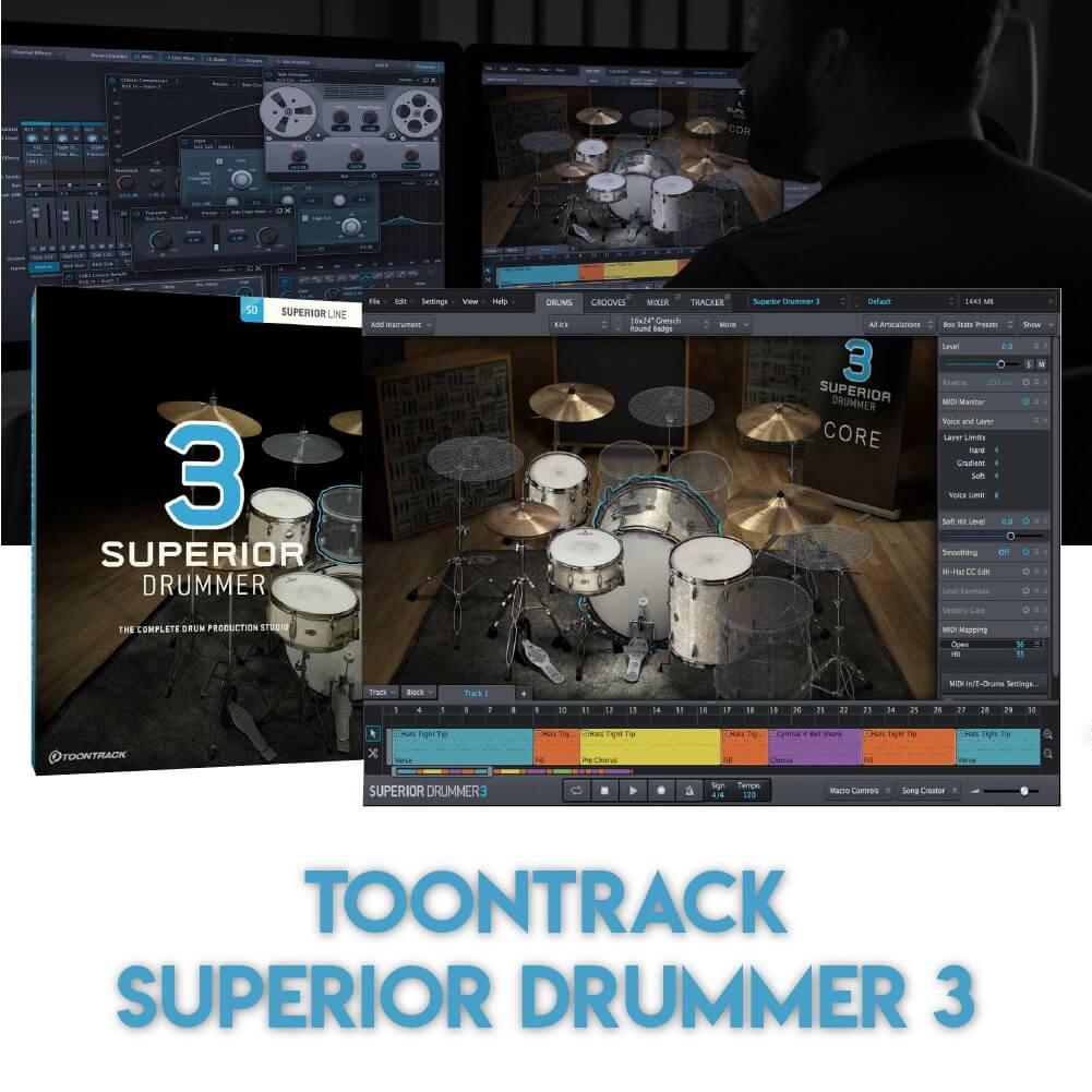 toontrack superior drummer 3 crack