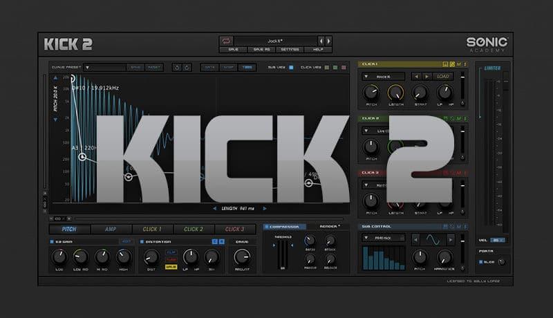 Sonic Academy Kick 2 Crack mac