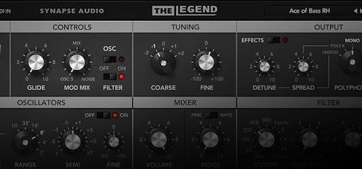 Synapse Audio The Legend vst Crack