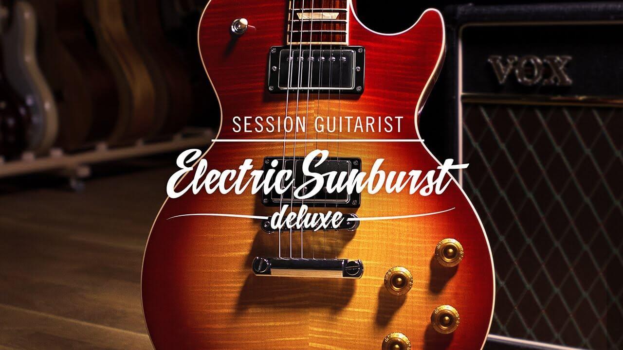 Native Instruments Session Guitarist electric sunburst kontakt library