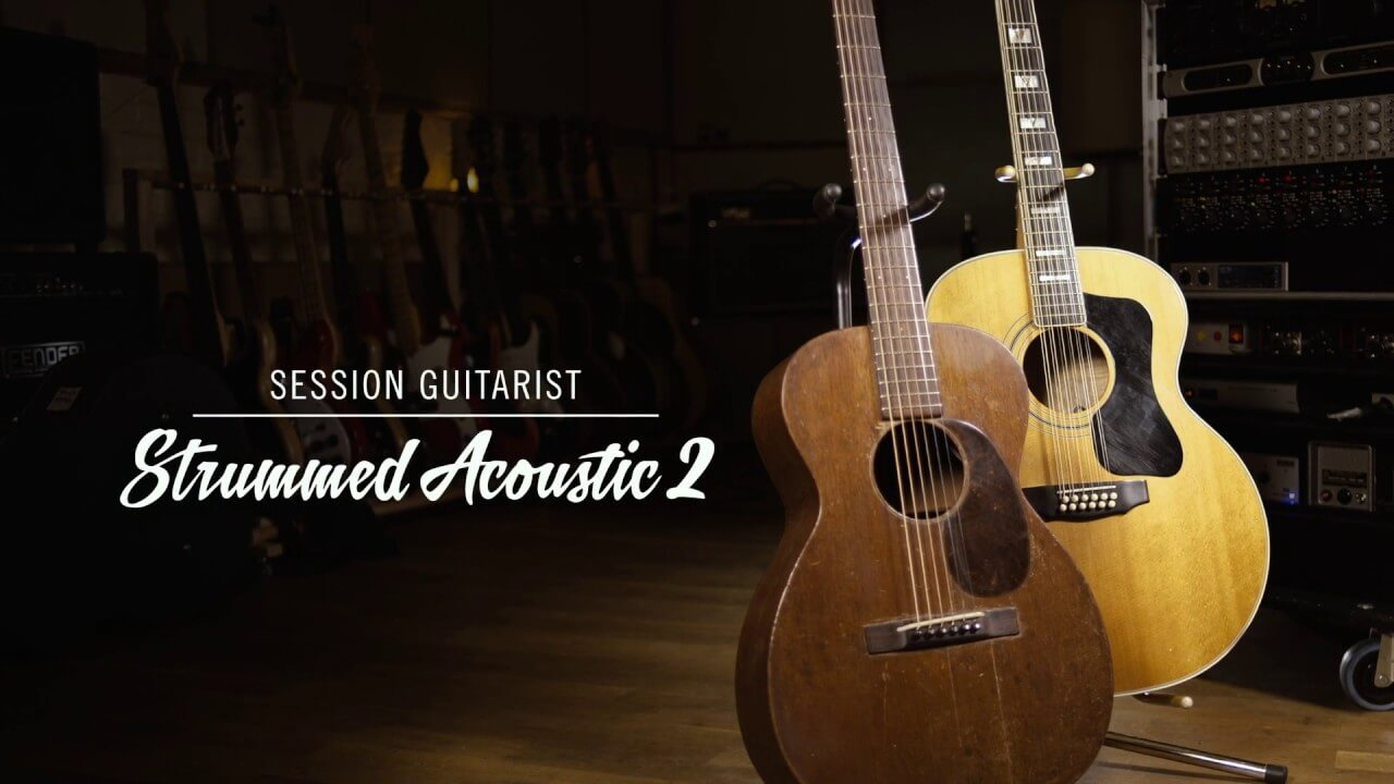 Session Guitarist Strummed Acoustic 2 KONTAKT Library